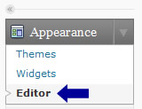 Editing a WordPress theme step 1