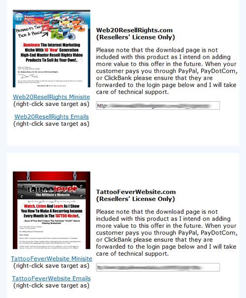 Free bonus websites