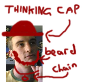 I pity the fool that doesn't have a thinking cap